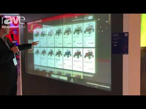 InfoComm 2018: srui Showcases Interactive AR Window at NEC Display Booth