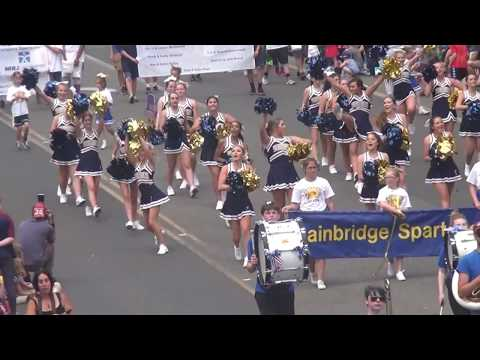 Bainbridge Cheer July 4 Parade