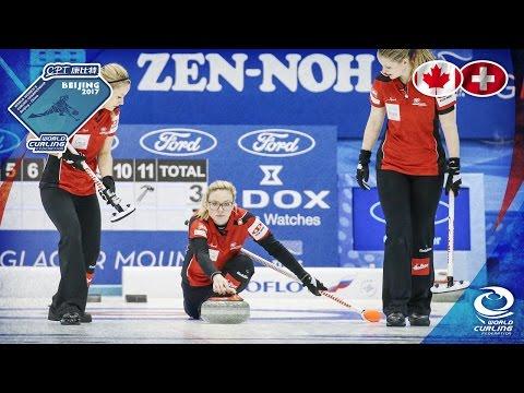 Canada v Switzerland - CPT World Women's Curling Championship 2017