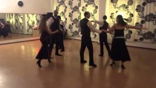 Exibição da Turma de Danças de Salão 3º Ano (Professor Ana Afonso) do Estúdio 8