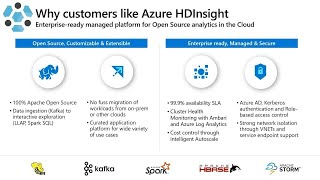 Gaining business insights with open source analytics on Azure HDInsight: Patterns | BRK3042