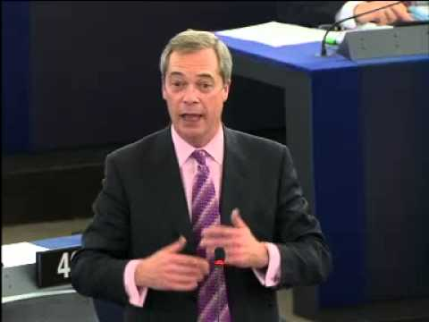 "Nigel Farage; ""My Flag is the Union Jack which is the British flag. Thank you"