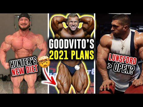 Hunter Labrada's New Diet for a Small Waist! Vitaliy Ugolnikov's (GoodVito) 2021 Goals + More