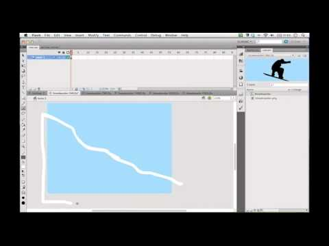 Snowboarder Project - Flash Tutorial