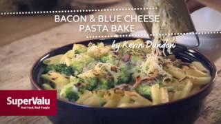 Bacon & Blue Cheese Pasta Bake