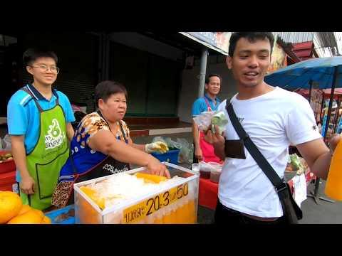 EP 69- Hello Thailand. พาเพื่อนๆเที่ยวตามตลาดน่าบ้านรามคำแหง Happy time with my friends