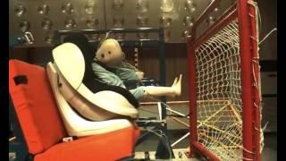 Child Seat Crash Test - Koopers Salsa Front Facing (Isofix)