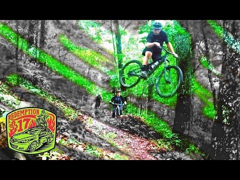 WET 'N WILD Mountain biking at Coldwater Creek!   Redemption17   Ep. 2