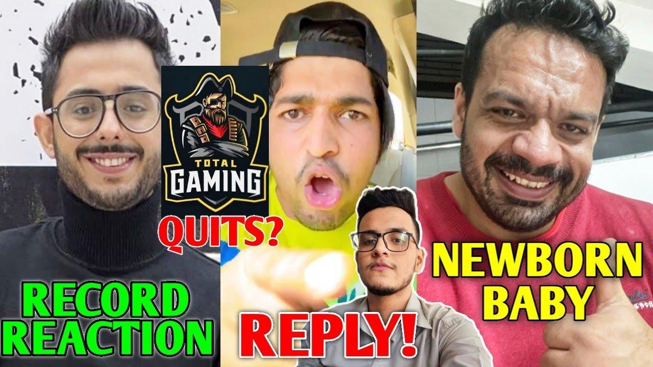 CarryMinati HUGE RECORD!- Reaction   Thara Bhai Joginder REPLY, Total Gaming, Mythpat, Flying Beast