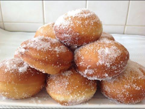 Bur Garaafo | Italian custard donuts - Ramadan recipe