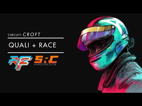rFactor2 - SRC Academy 90 mins of Croft - High chance of rain!