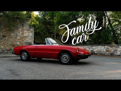 1971 Alfa Romeo Spider 1300 Junior: The Family Car
