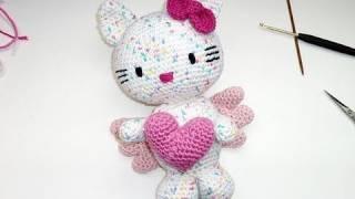 Amigurumi Hello Kitty Hakeln : Hakeln * Hello Kitty Engel mit Herz * Teil 2 * K?rper ...