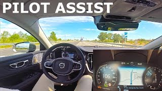 2019 Volvo V60, Pilot Assist