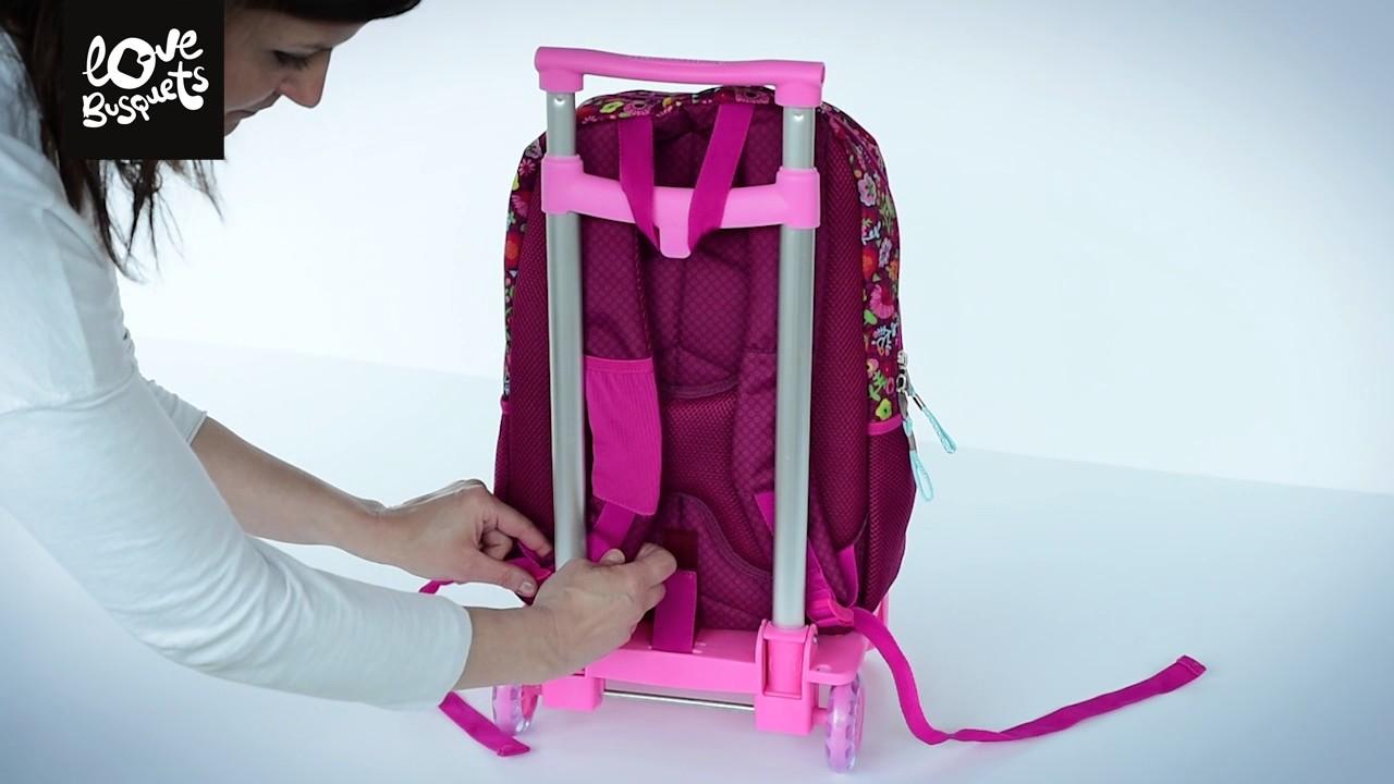 Como colocar la mochila doble busquets en el carro for Como colocar una mochila de inodoro