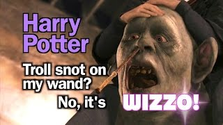 Harry Potter - troll snot on my wand? No, it