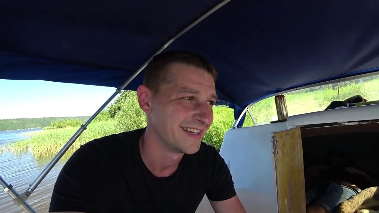 КАТЕР НЕПТУН 500 HONDA BF90D с Каютой СЛОМАЛИ МОТОР РЕМОНТ 260т.р.