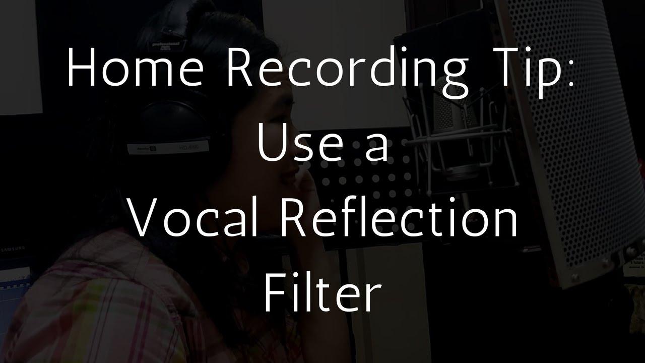 home recording tip use a vocal reflection filter youtube. Black Bedroom Furniture Sets. Home Design Ideas