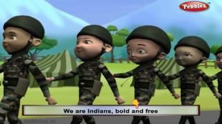 We Are Indians | Nursery Rhymes With Lyrics | Nursery Poems | 3D Nursery Rhymes For Children