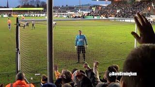 Birmingham fans taunt Blyth goalkeeper thumbnail