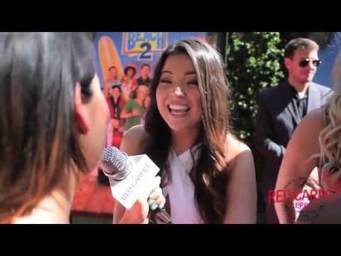 """Piper Curda at Disney Channel's """"Teen Beach 2"""" Premiere Red Carpet #TeenBeach2"""