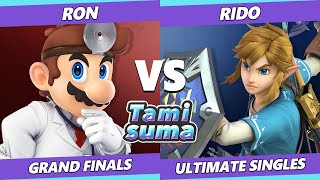 TAMISUMA 169 GRAND FINALS - Rido (Link) Vs. Ron (Dr. Mario) Smash Ultimate SSBU