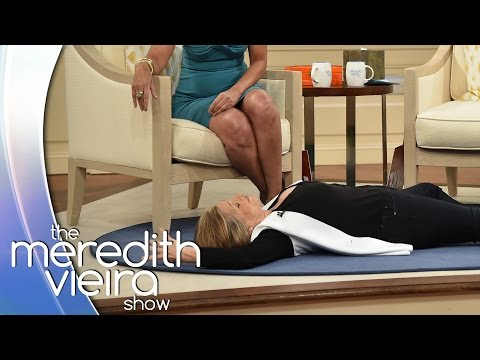 Meredith Auditions To Play Dead With Tamara Tunie!  The Meredith Vieira