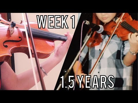 1.5 Years Violin Progress