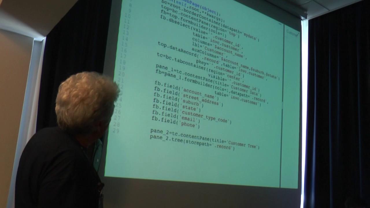 Image from Erpy: una solida base per scrivere gestionali su misura