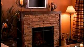 Canyon Fireplace on Mobile Home Disaster