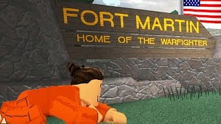 SNEAKING INTO THE UNITED ARMY TRAINING BASE / Roblox Episodes