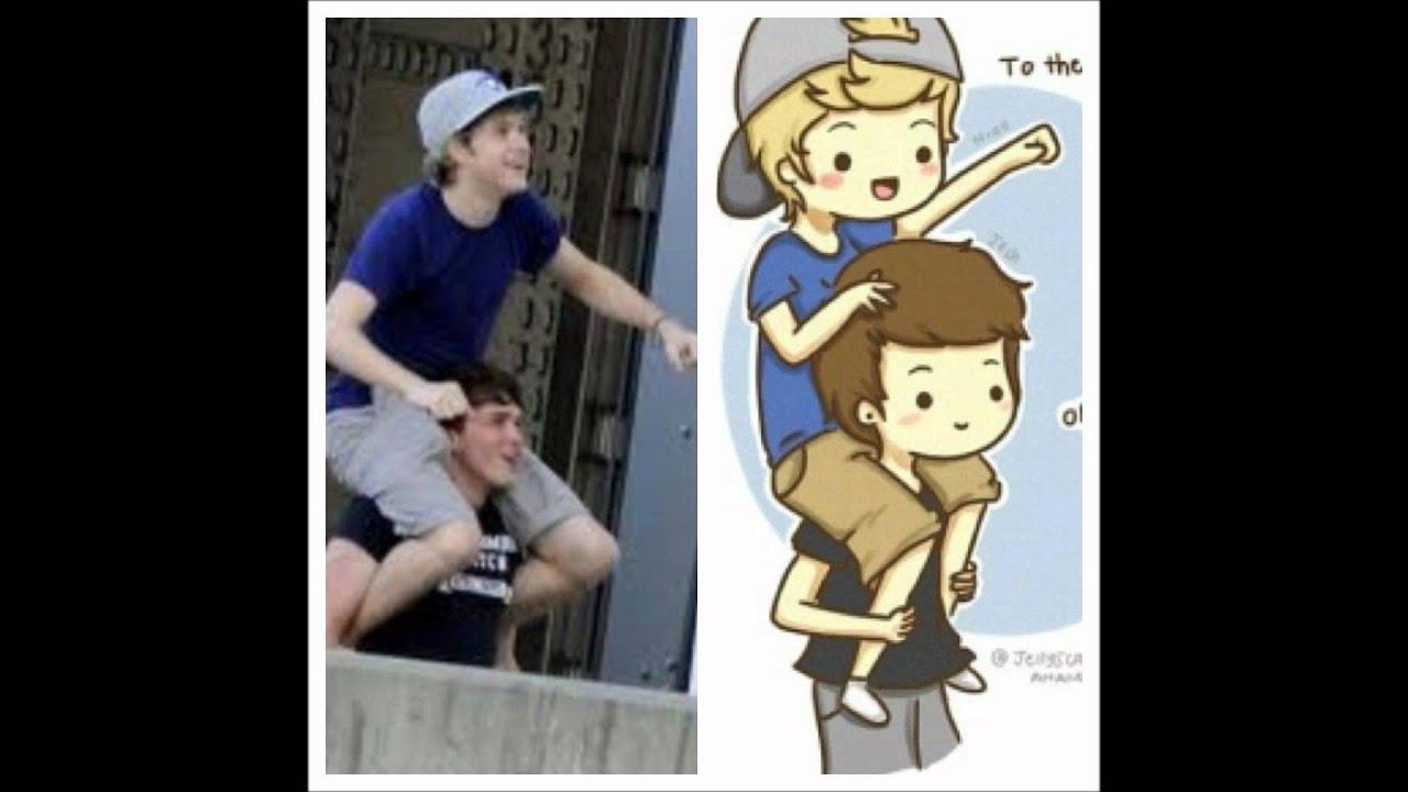 One Direction Cartoon Youtube