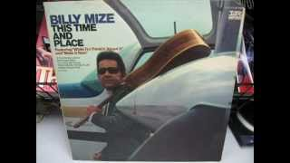"Billy Mize ""Thank You For The Feeling"""
