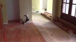 Jasper hardwood flooring job