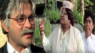 Anil Kapoor, Johnny Lever, Mr. Azaad - Comedy Scene 2/13