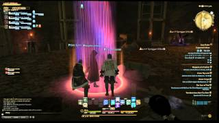 FFXIV Copperbell Mines Duty finder playing as Conjurer