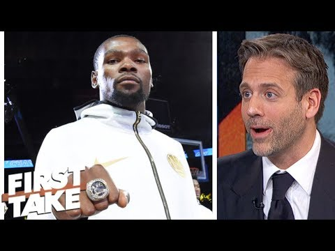 Kevin Durant's comments show 'just how dangerous Warriors are' - Max Kellerman | First Take