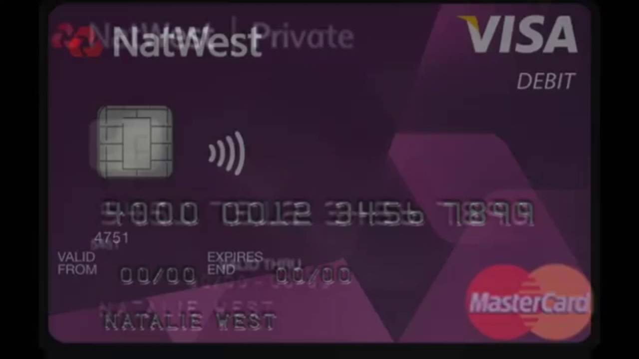 NatWest Black MasterCard - YouTube