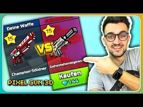 Waffe im Kampf kaufen! Unfairer Vorteil? | Pixel Gun 3D [Deutsch]