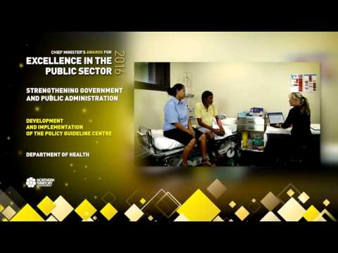 Policy Guideline Centre - celebrating excellence in the Northern Territory public sector