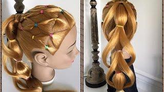 Peinados Faciles Para Nina Con Ligas Peinados Faciles Y Bonitos