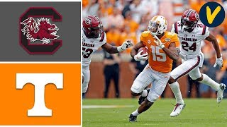 South Carolina vs Tennessee Highlights | Week 9 | College Football Highlights