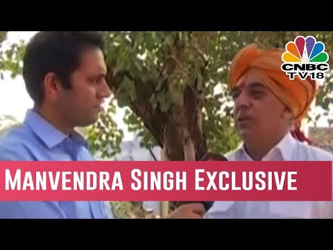 Battle For Rajasthan | Congress' Manvendra Singh Exclusive Interview | Election Exchange