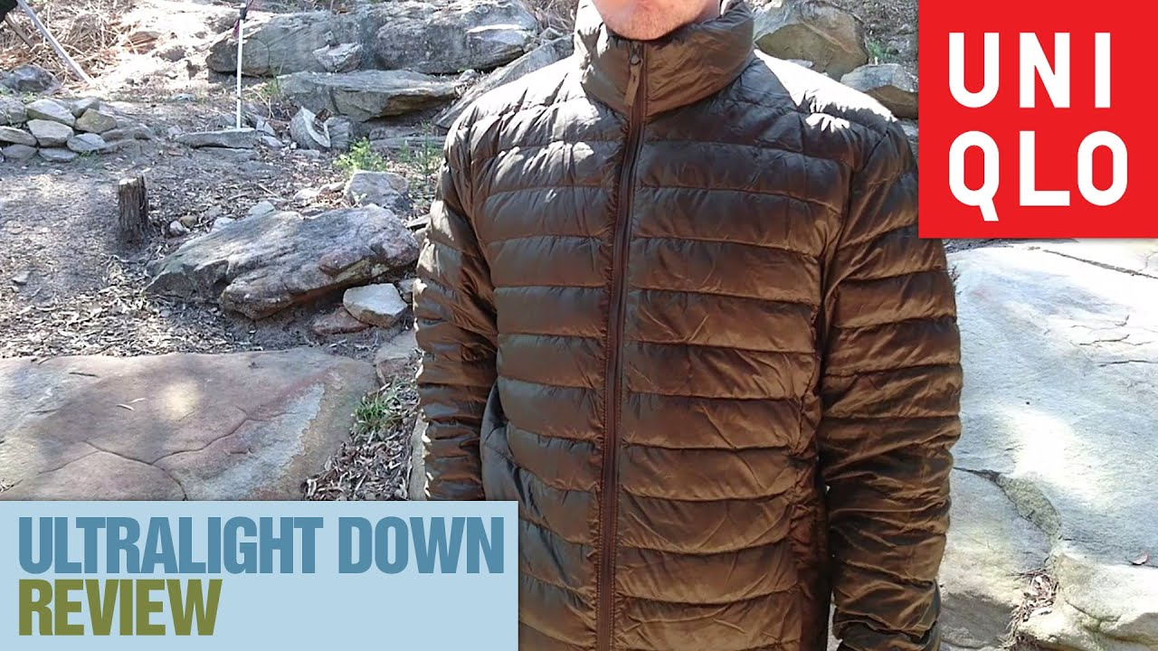 UNIQLO Ultralight Down Jacket Review - YouTube