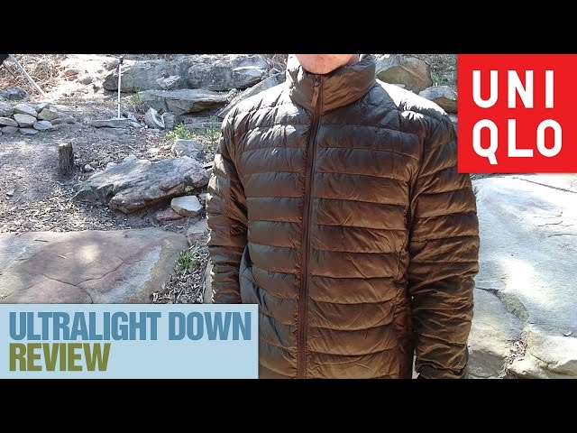 UNIQLO Ultralight Down Jacket Review   With Loop Control   YouTube For  Musicians