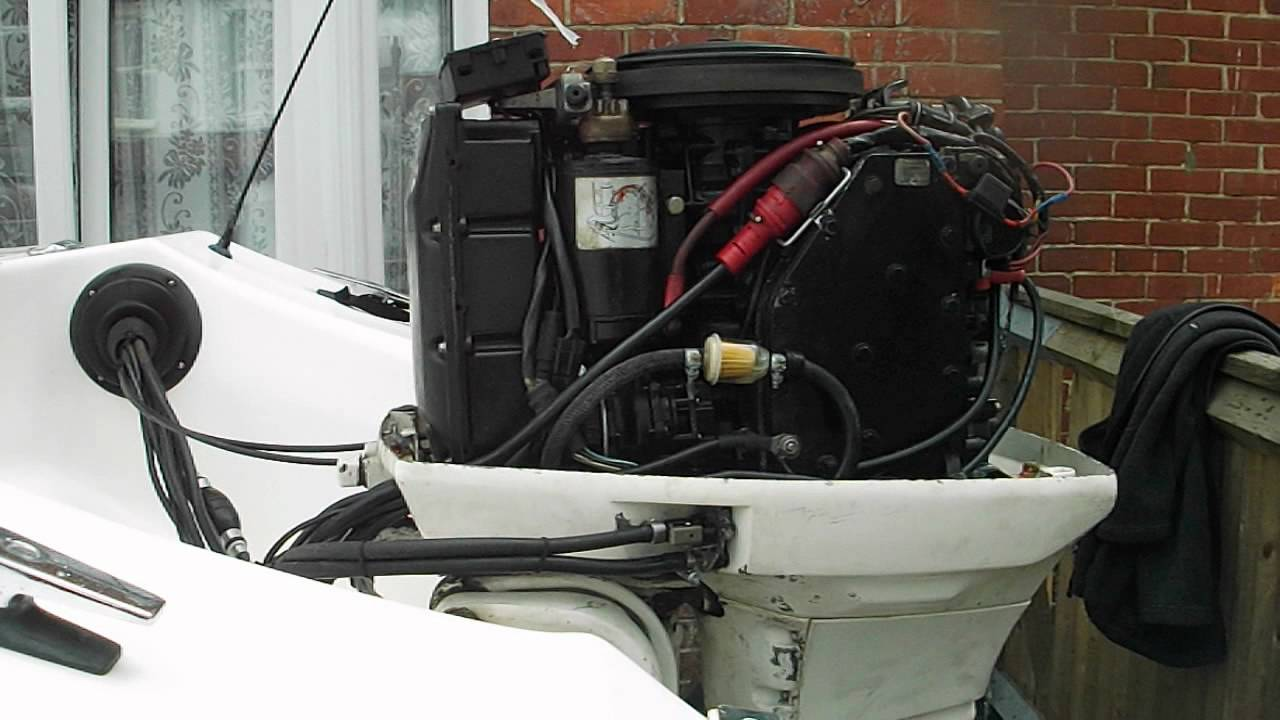 maxresdefault johnson 60 hp vro outboard youtube 70 HP Johnson Ignition Wiring at bakdesigns.co