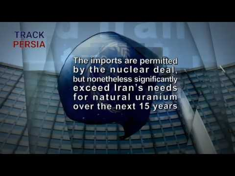 #Iran stockpiling uranium far above its needs, showing intent to build nukes  Nuclear armed mullahs