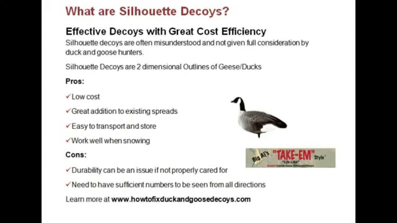 How to Setup Silhouette Decoys | Decoy Pro