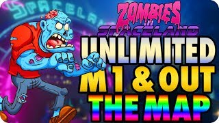 Zombies In Spaceland Glitches: Unlimited M1 & Easy Out The Map Glitch - Infinite Warfare