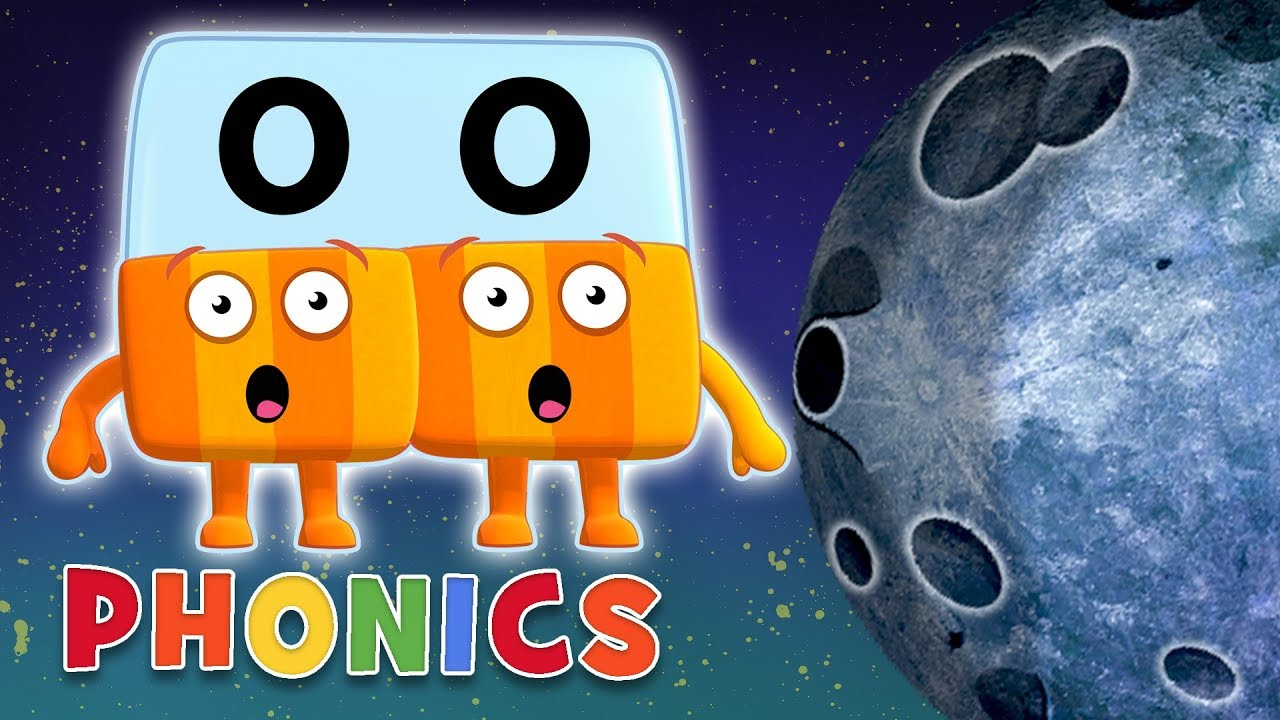 Download Over The Moon With OO! 🌜 | Learn to Read | Phonics | Alphablocks